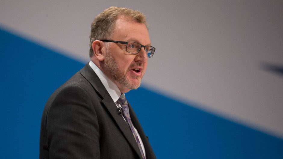Scottish Secretary David Mundell visited Mr Johnston last week while on a trip to the north-east