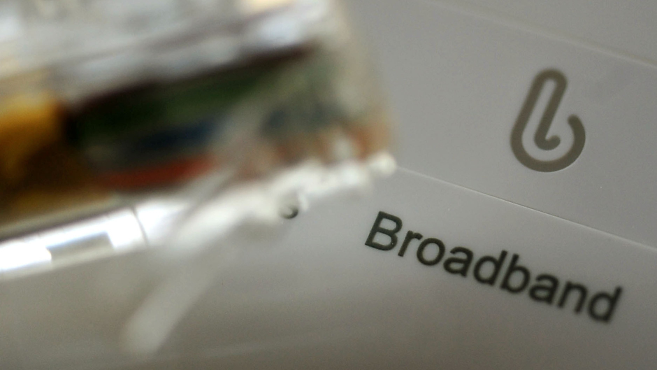 "The Scottish Government have been accused of ""abandoning"" their broadband promise"