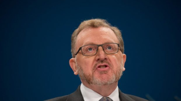 "David Mundell said the figures prove Scotland benefits from the ""broad-shoulders"" of the UK"