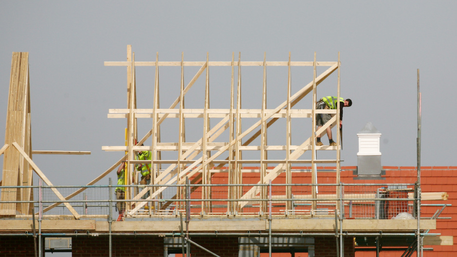 Confidence among Scottish construction employers has grown, according to a survey.