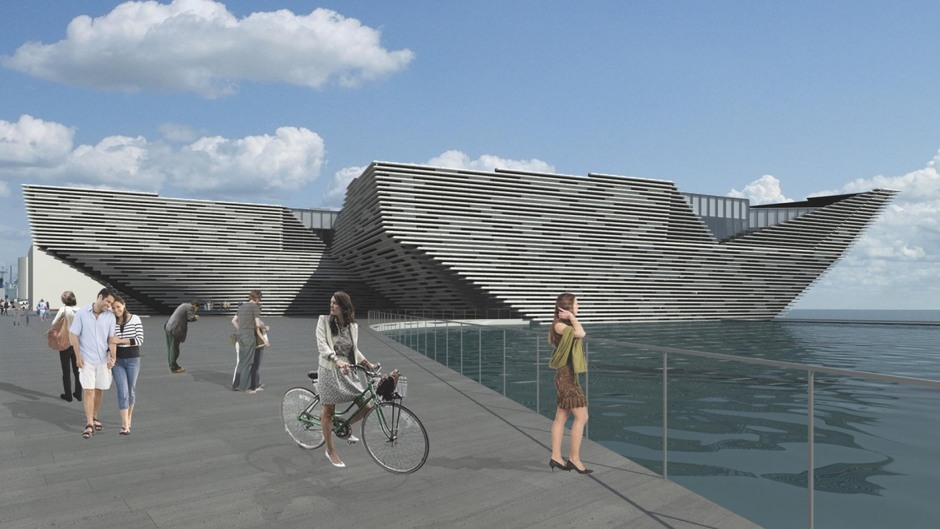 The V&A project in Dundee