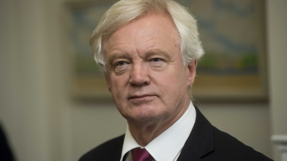 Brexit Secretary David Davis said the referendum vote for Brexit was 'clear, overwhelming and unarguable'