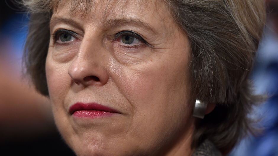 Prime Minister Theresa May will address conference on Wednesday