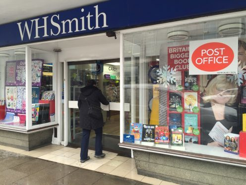 The installation of automatic doors at a relocated post office has been delayed by up to a month.
