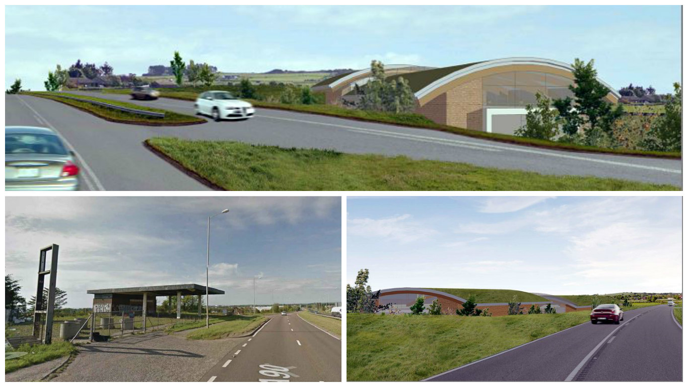 Plans have been lodged to transform the derelict filling station at Portlethen into a garden centre