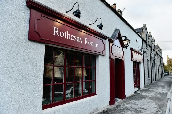 The Rothesay Rooms, Ballater. Credit: Kami Thomson.