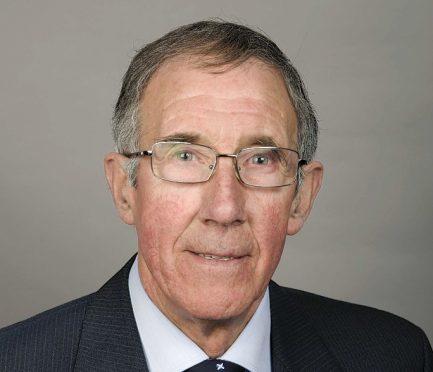 Aberdeenshire councillor Sandy Duncan.