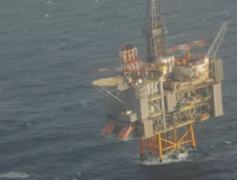 North Sea Clair Platform