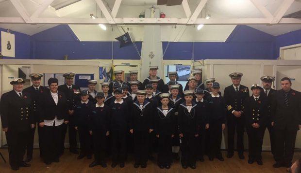 Fraserburgh Sea Cadets.