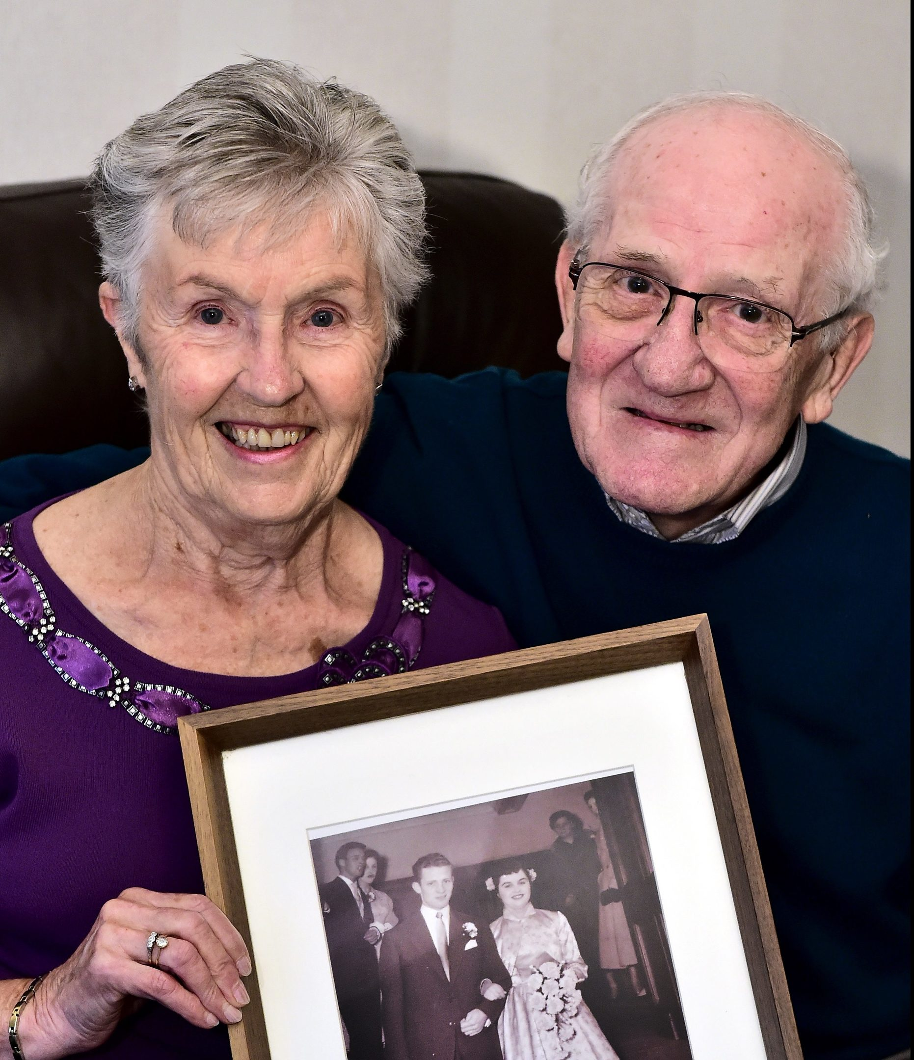 Margaret and Donald Smith of Bridge of Don, celebrated their 60th wedding anniversary