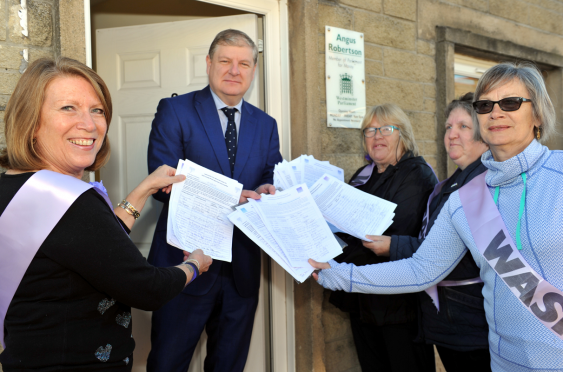 Waspi (Women Against State Pension Inequality) Moray
