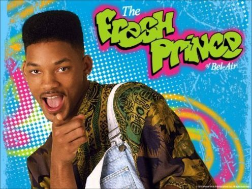 Will Smith in the Fresh Prince of Bel Air