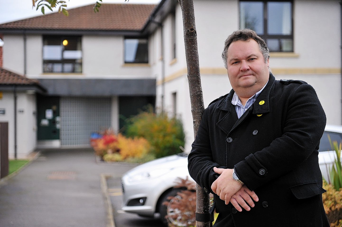 Moray Council leader Graham Leadbitter.