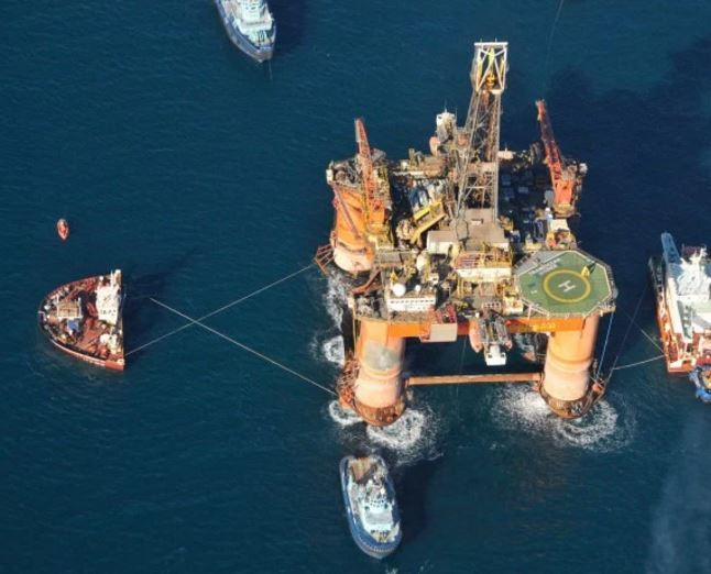 The UK Parliament's transport select committee questioned why the captain of MV Alp Forward was towing the 17,300 tonne Transocean Winner in a storm on Monday, August 8.