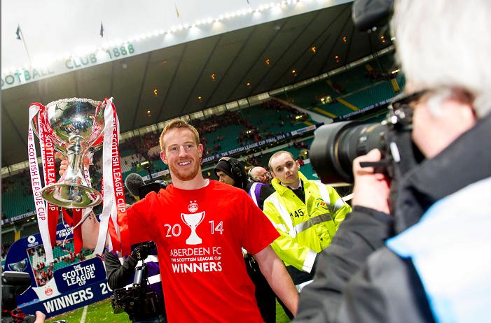 Aberdeen hero Adam Rooney is desperate for more cup success.