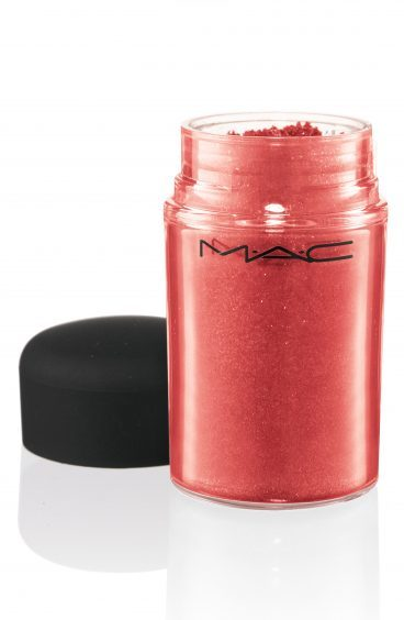 MAC Glitter in Red, available from maccosmetics.co.uk.