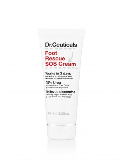 Dr Ceuticals Foot Rescue SOS Cream, available from boots.com.