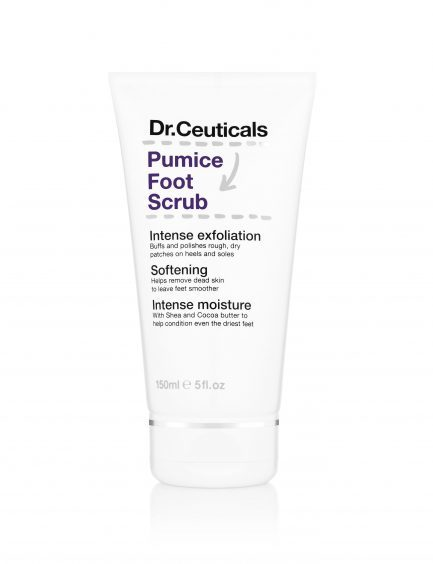 Dr Ceuticals Pumice Foot Scrub, available from boots.com.