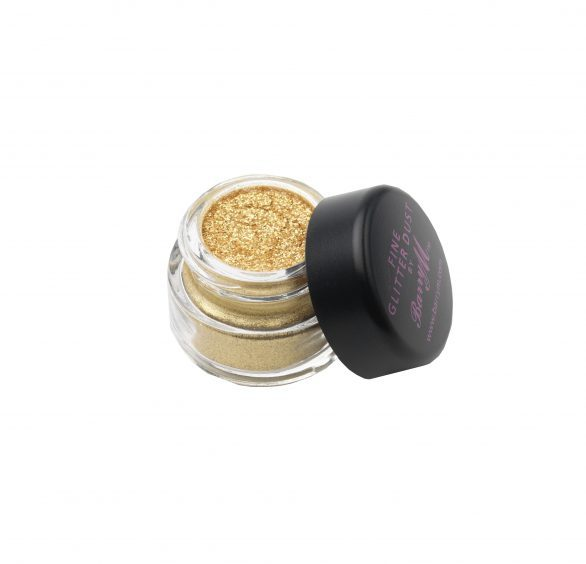 Barry M Fine Glitter Dust in Yellow Gold, available from barrym.com.