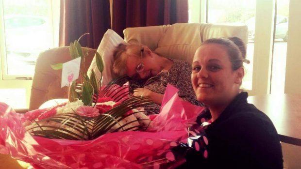 Alison McKenzie with her daughter, Emma.