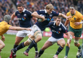 Richie Gray  on the charge