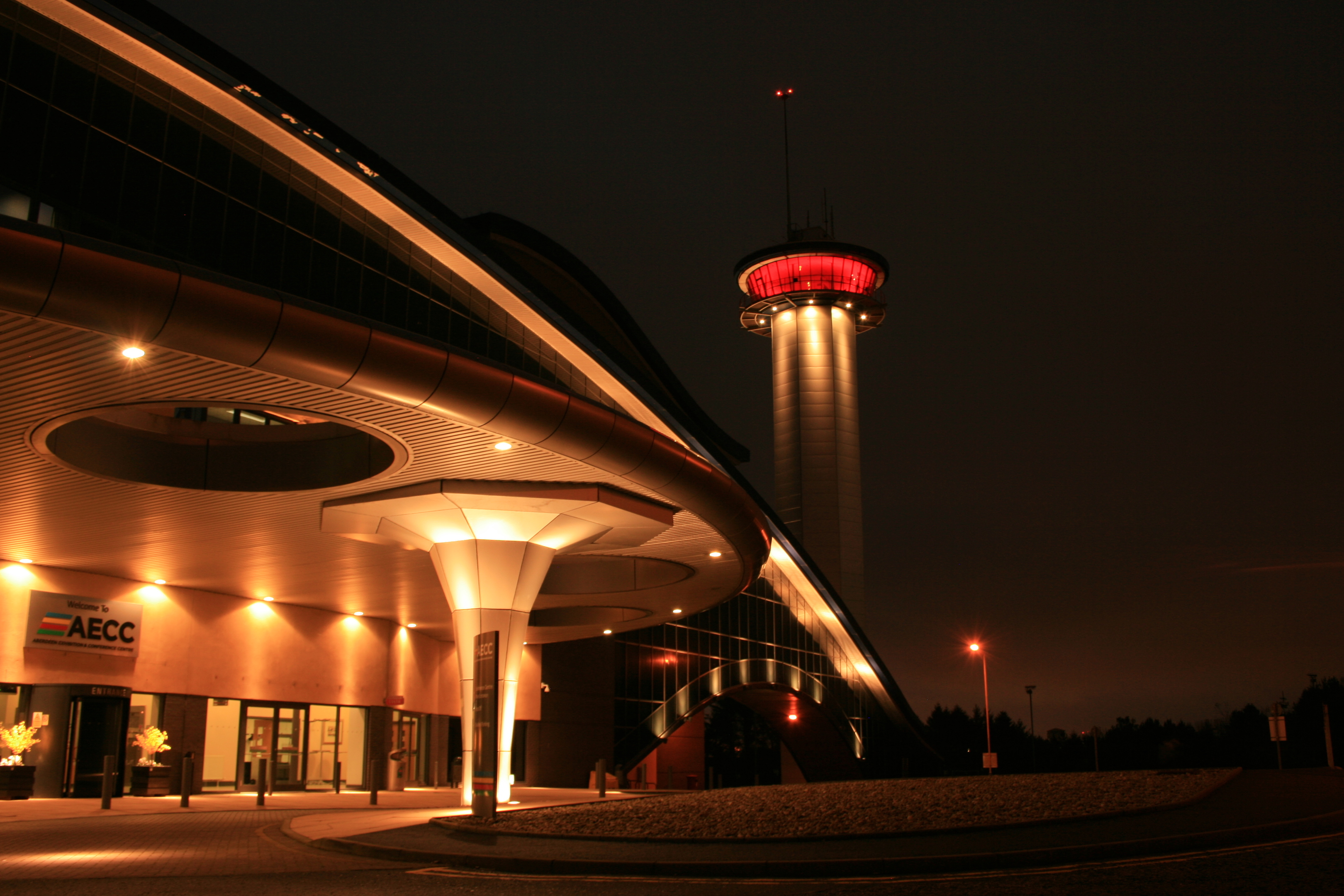 The AECC will be one of a number of buildings lit up red to support the Poppy Appeal.