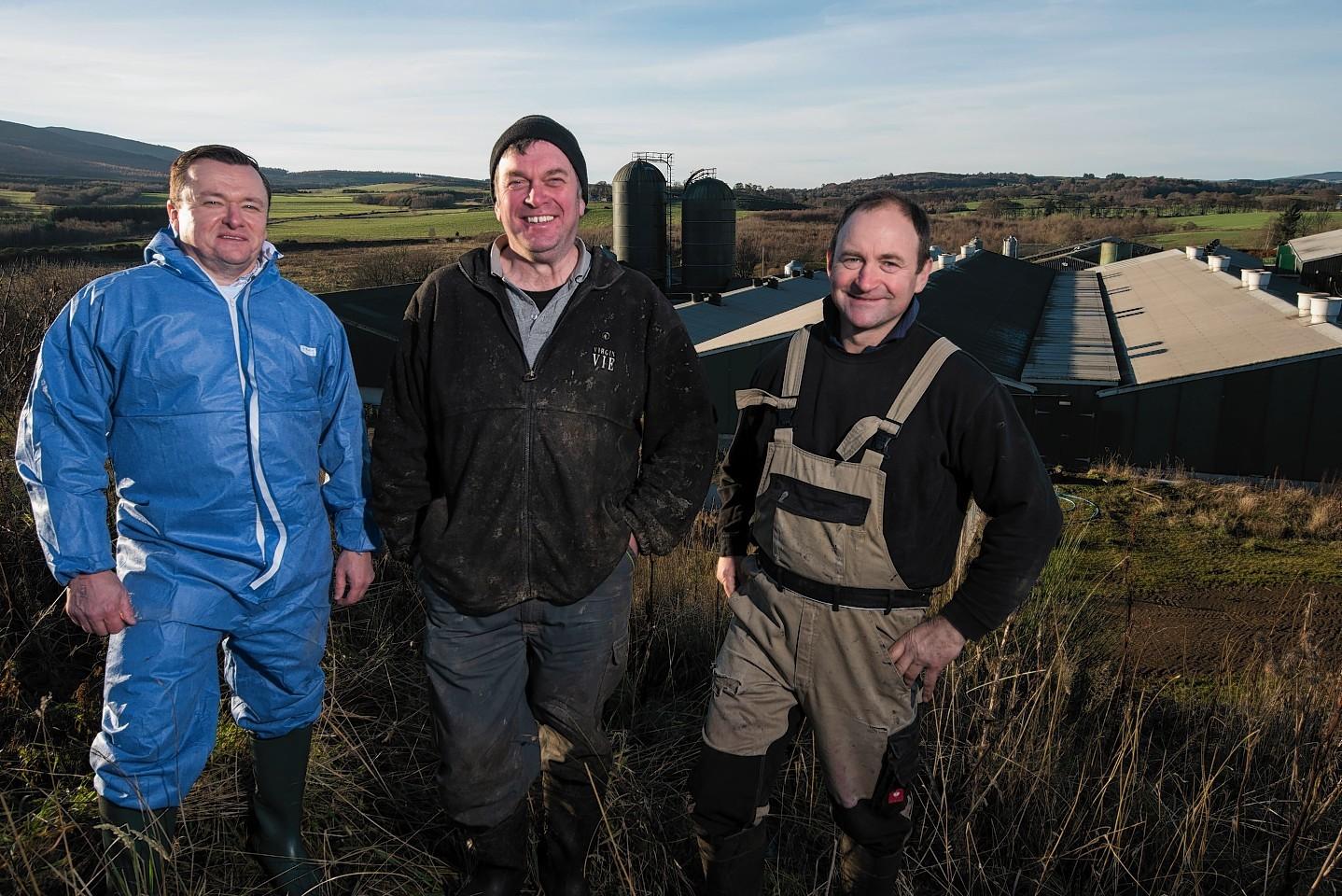 Allan Ward, Wayne Ducker and Patrick Stephen