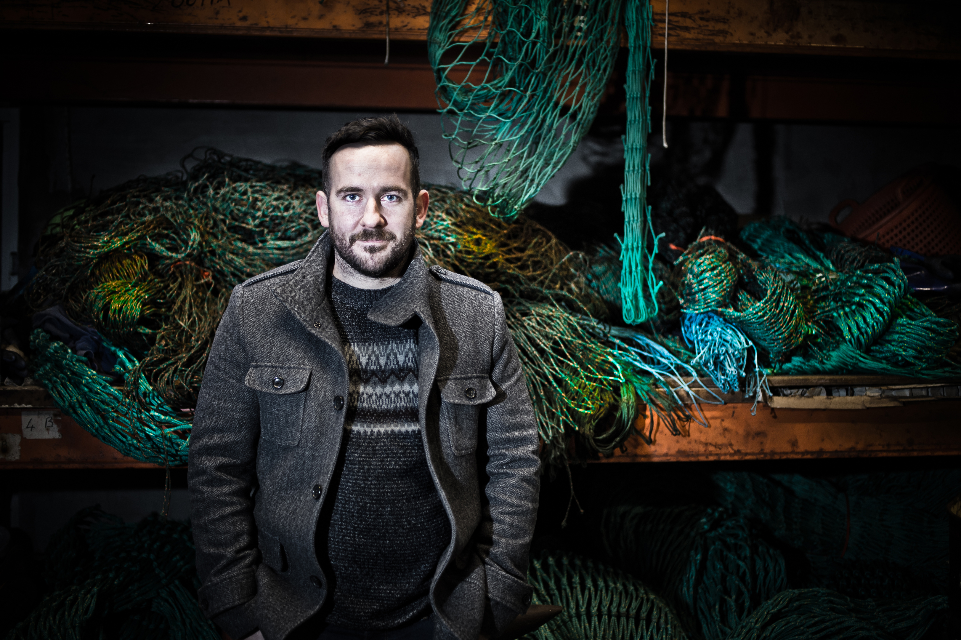 Andrew Lovie, Managing Director of Foinaven Fish. (Colin Heggie, Seafield Street Photography)