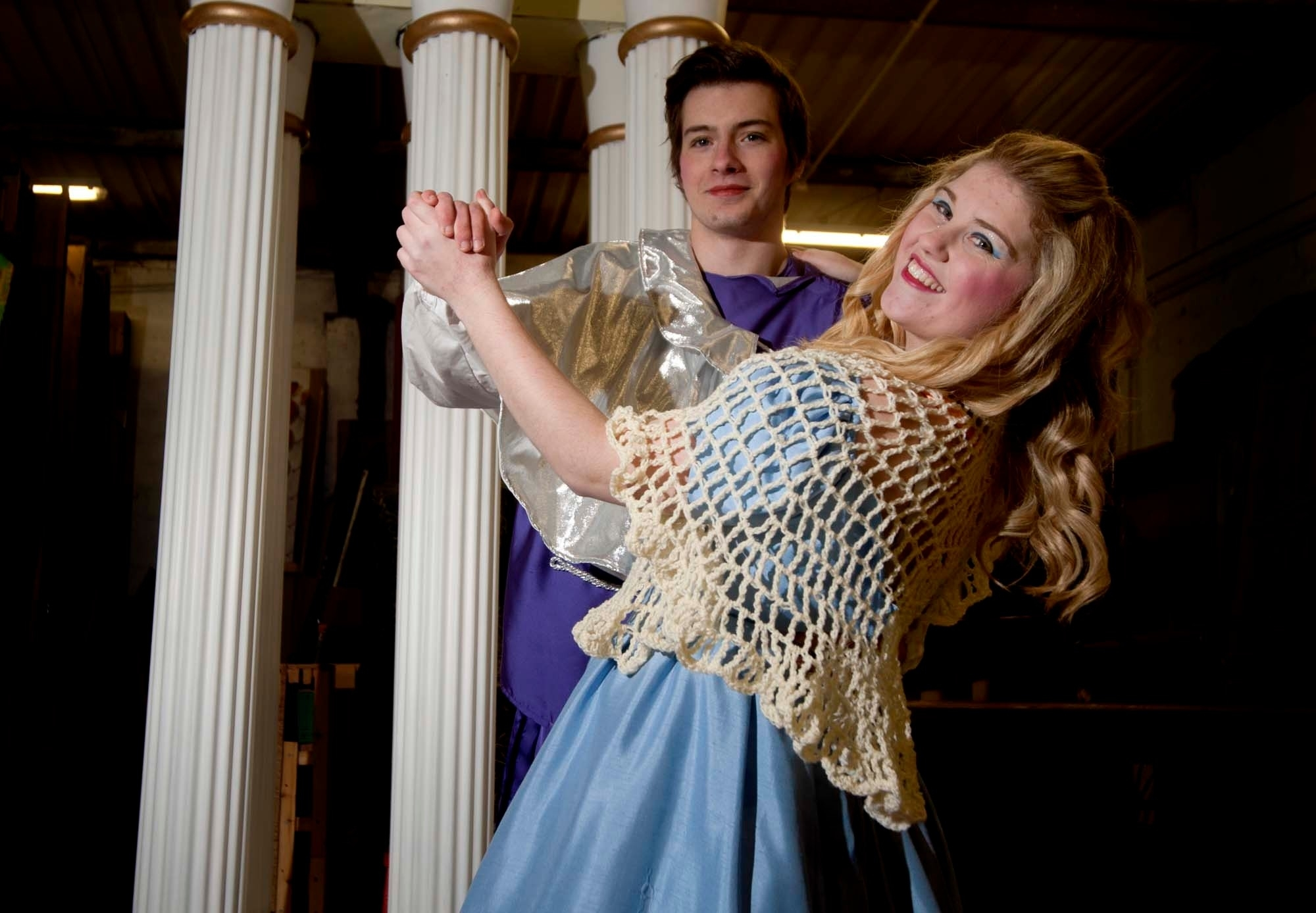 Bryony Munro will play Cinderella and Mitch Carpenter will be her Prince Charming