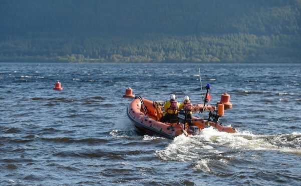 The Loch Ness lifeboat