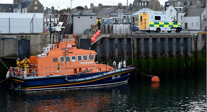 The Fraserburgh lifeboat has been called into action (Duncan Brown)