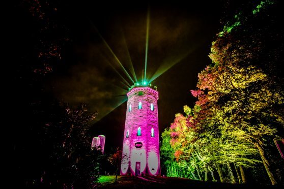 Visitors were guided to Nelson's Tower as part of  last year's Colours of Cluny.