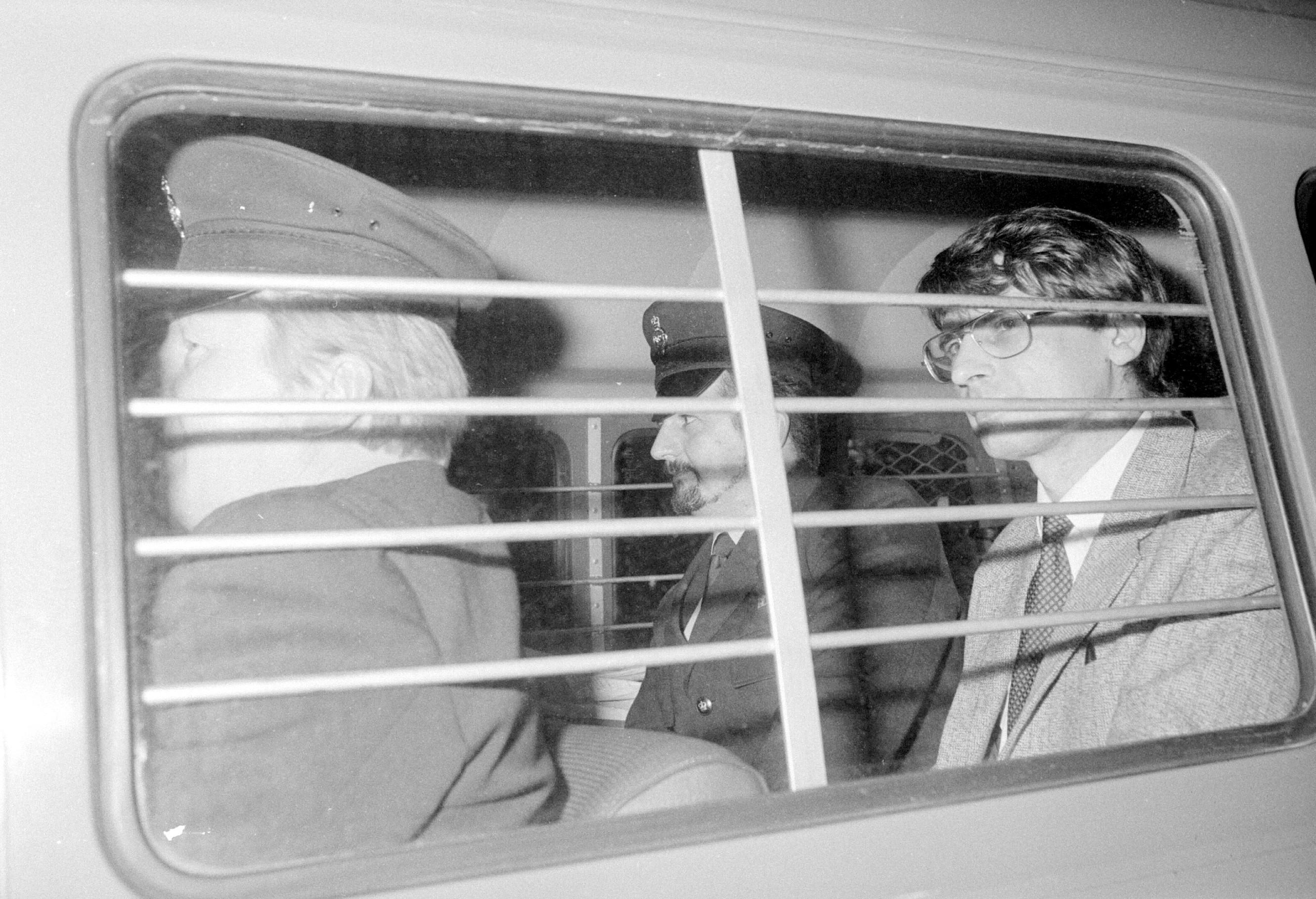 serial killer Dennis Nilson in custody