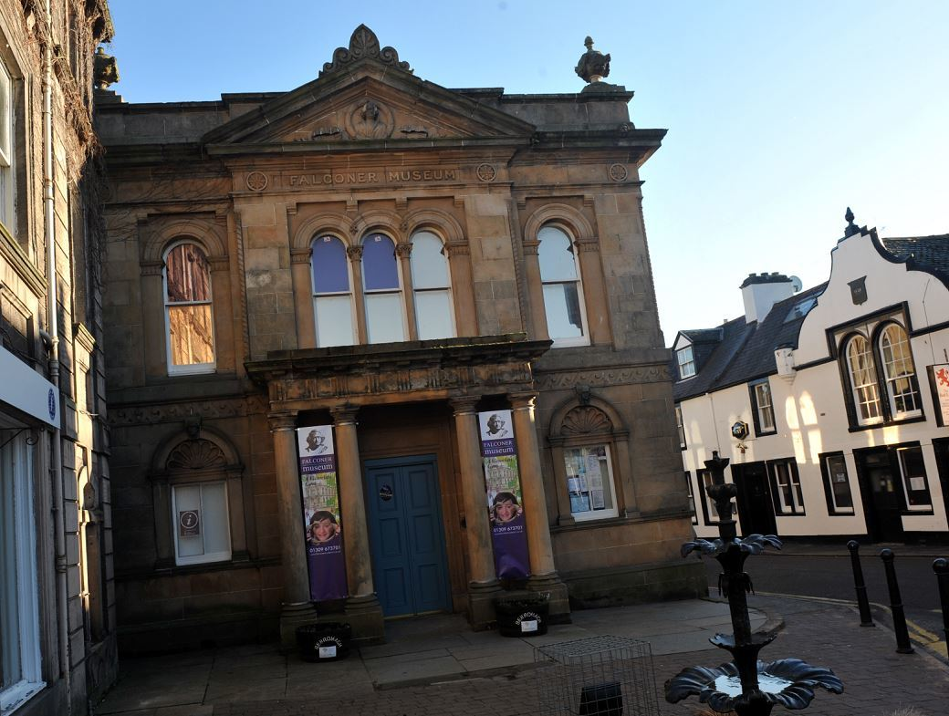 Annual visitor numbers to the Falconer Museum in Forres have dropped from 66,000 to 50,000 over the last year.