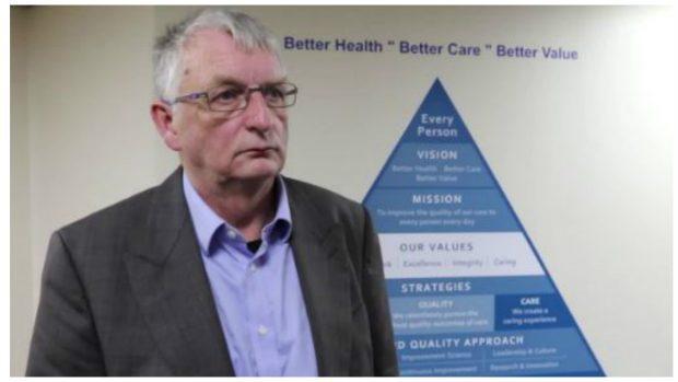 NHS Highland chairman David Alston.