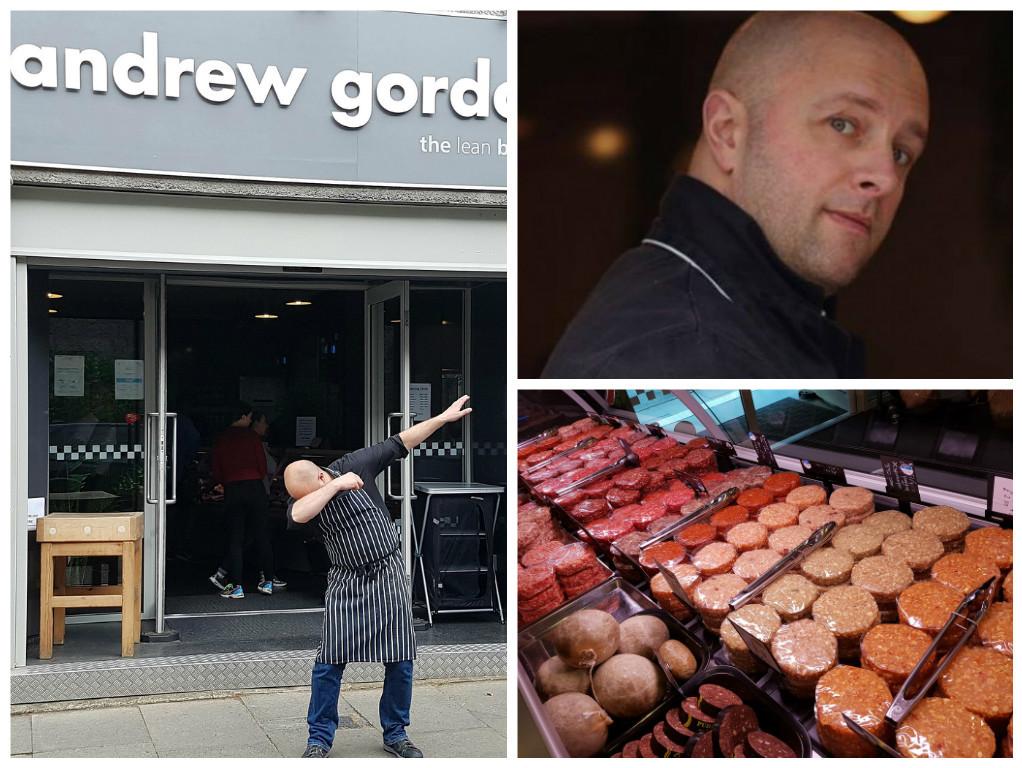 Andrew Gordon butchers has closed