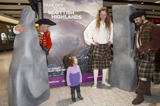 VisitScotland at Heathrow Terminal Five