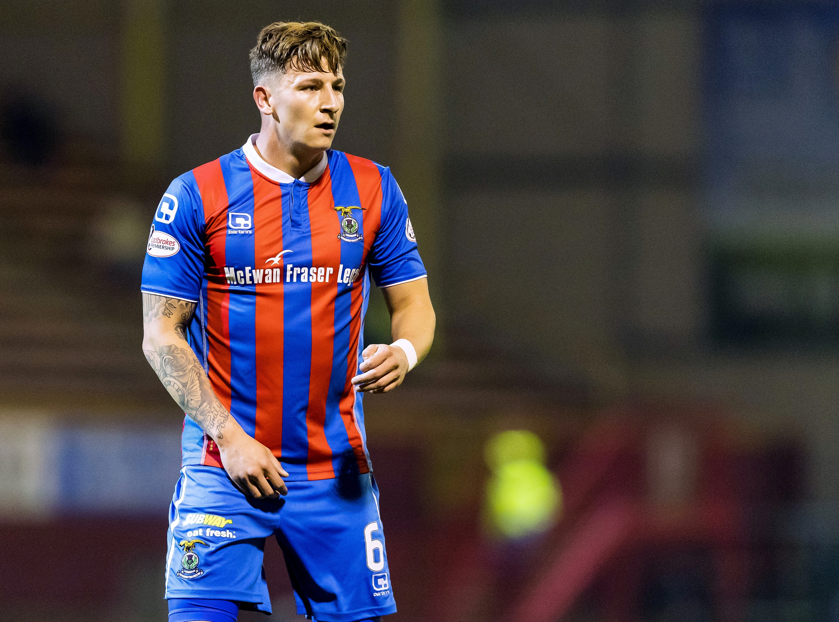 Meekings left Caley Thistle after relegation in 2017