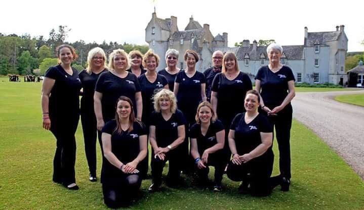 The Kinloss Military Wives Choir will perform on the Balmoral Estate at a dinner as part of the event.