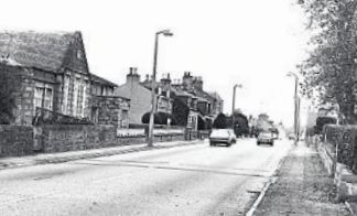 Kintore, 197, with the school on the left