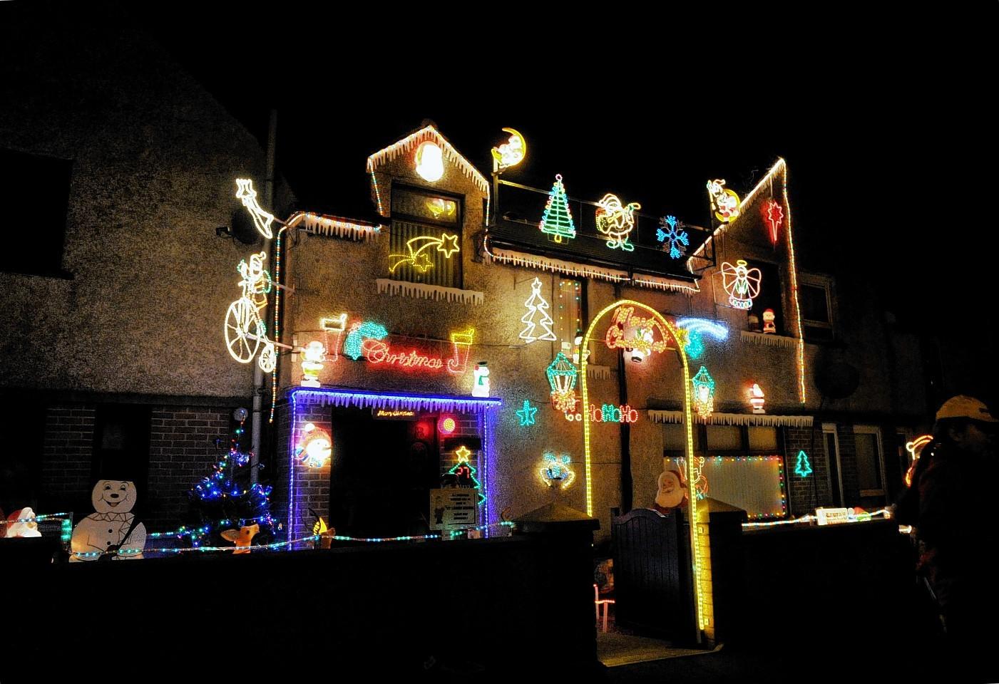 The McRobbie home last year.
