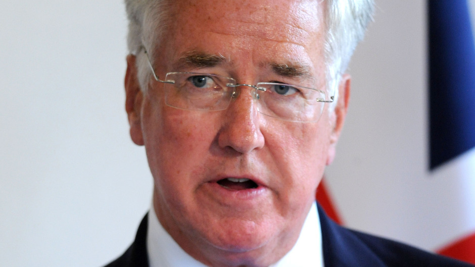 Sir Michael Fallon has been urged to clarify the situation urgently
