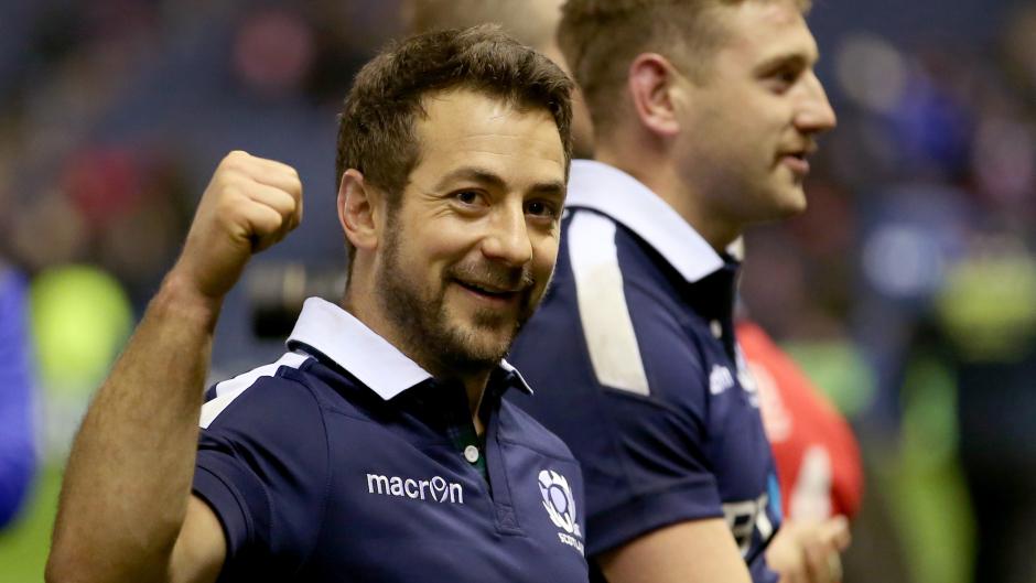 Scotland captain Greig Laidlaw