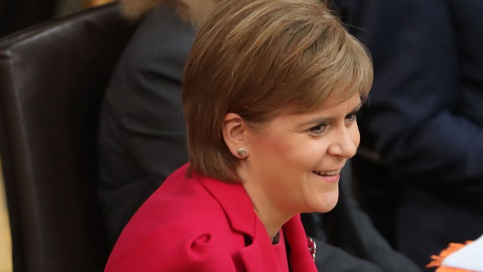 Nicola Sturgeon said ministers will now 'actively consider' involvement in the Brexit court case