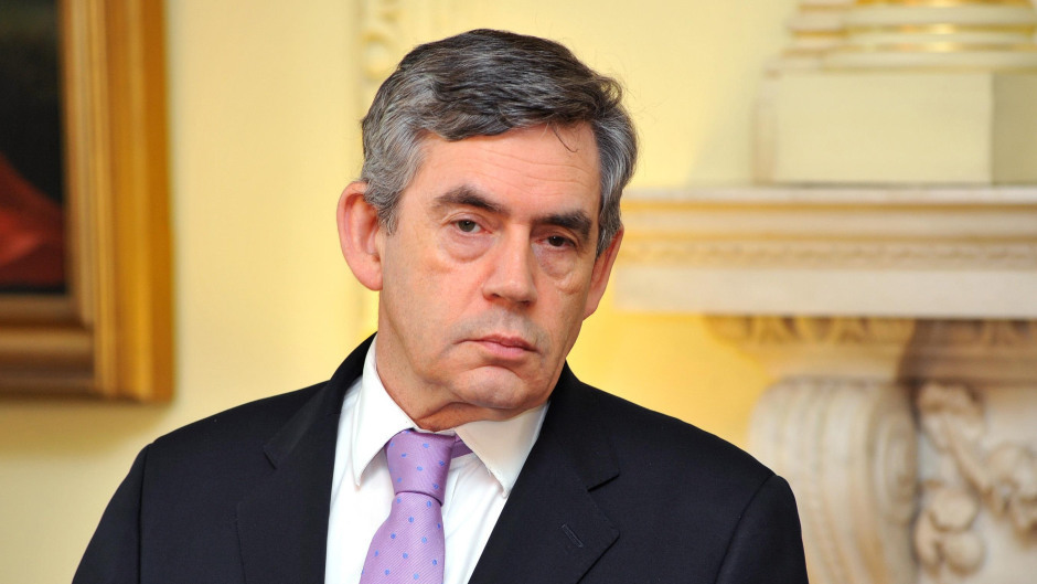 "Gordon Brown says devolution ""at risk"""