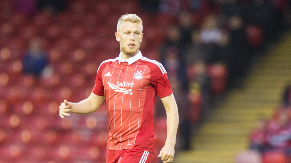 Aberdeen's Jayden Stockley got the opening goal for the Dons