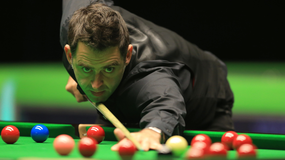 Ronnie O'Sullivan turned on the style