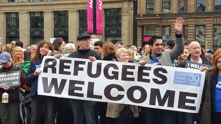 Scotland has welcomed more than 1,200 Syrian refugees since the first flight arrived in Glasgow on November 15 last year
