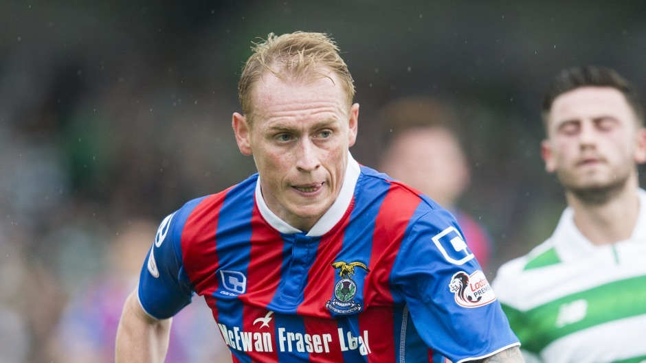 Carl Tremarco grabbed Inverness' late winner.