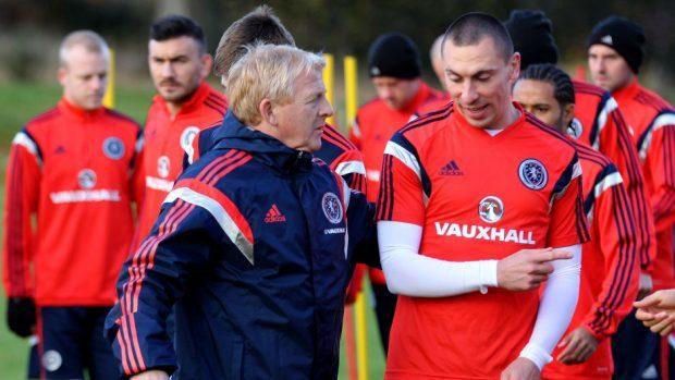 Scott Brown, right, has spoken of his respect for Gordon Strachan.